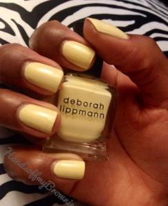 Deborah Lippmann Spring Reveries for Spring 2014 - Build Me Up Buttercup