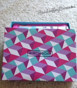 September 2014 Birchbox