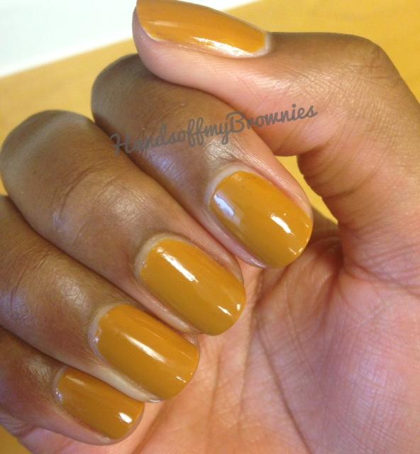 Honey Yellow Nail Polish: Dijon Mustard Nail Polish