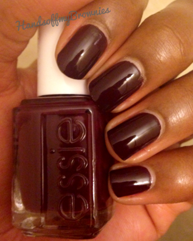 Oxblood Nail Polish Essie | Hession Hairdressing
