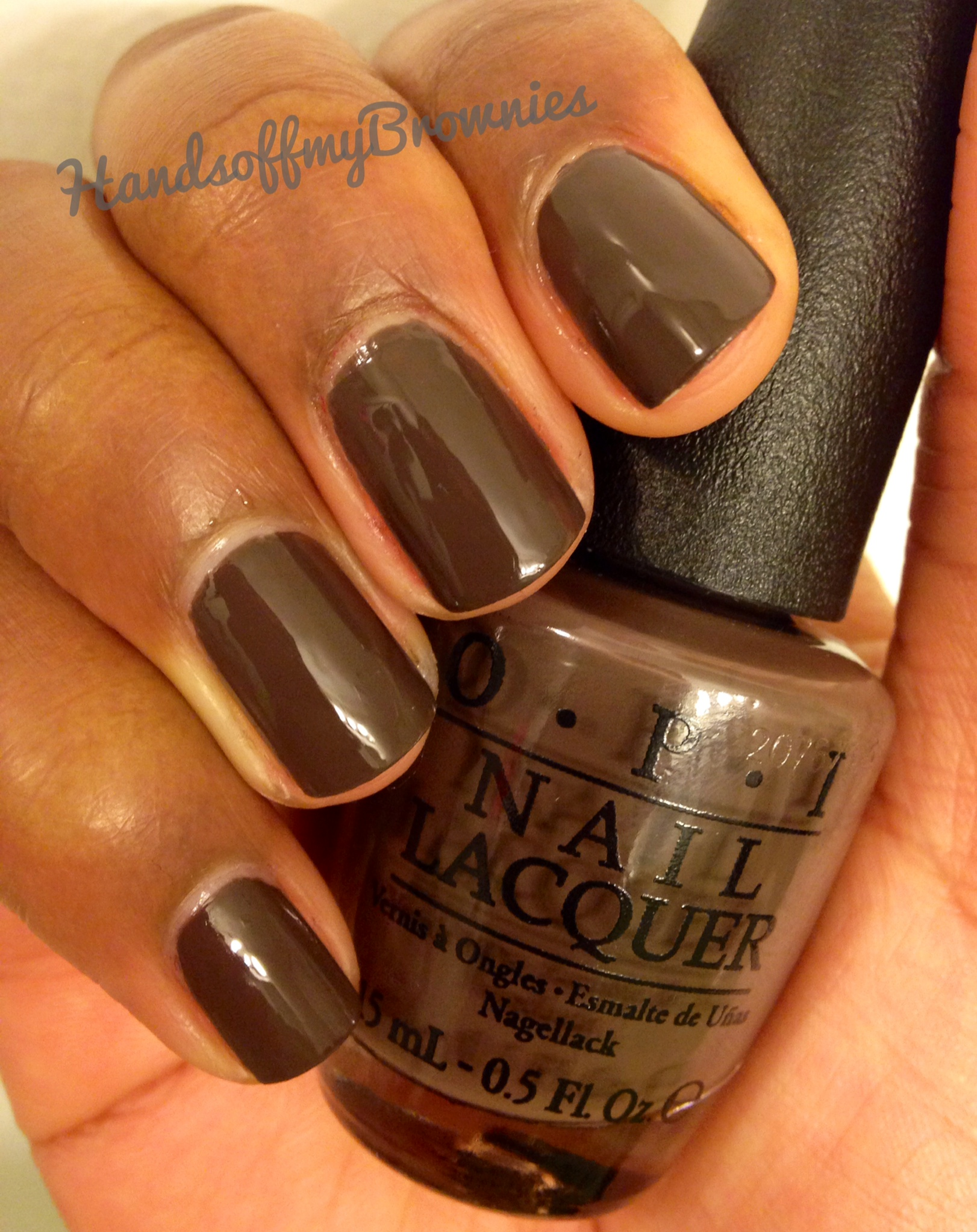 OPI | Hands Off My Brownies