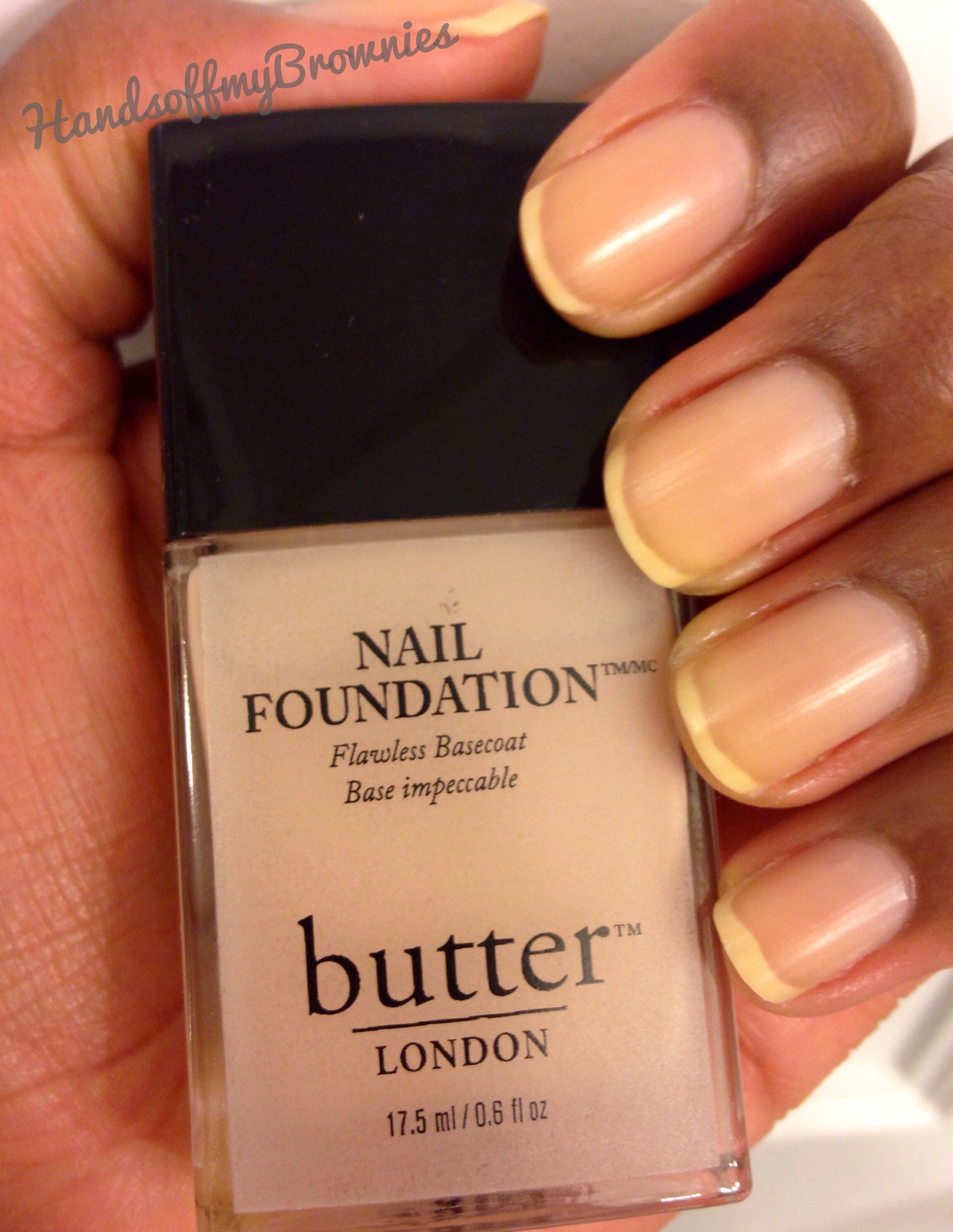 butter LONDON Nail Foundation Flawless Basecoat   Hands Off My Brownies