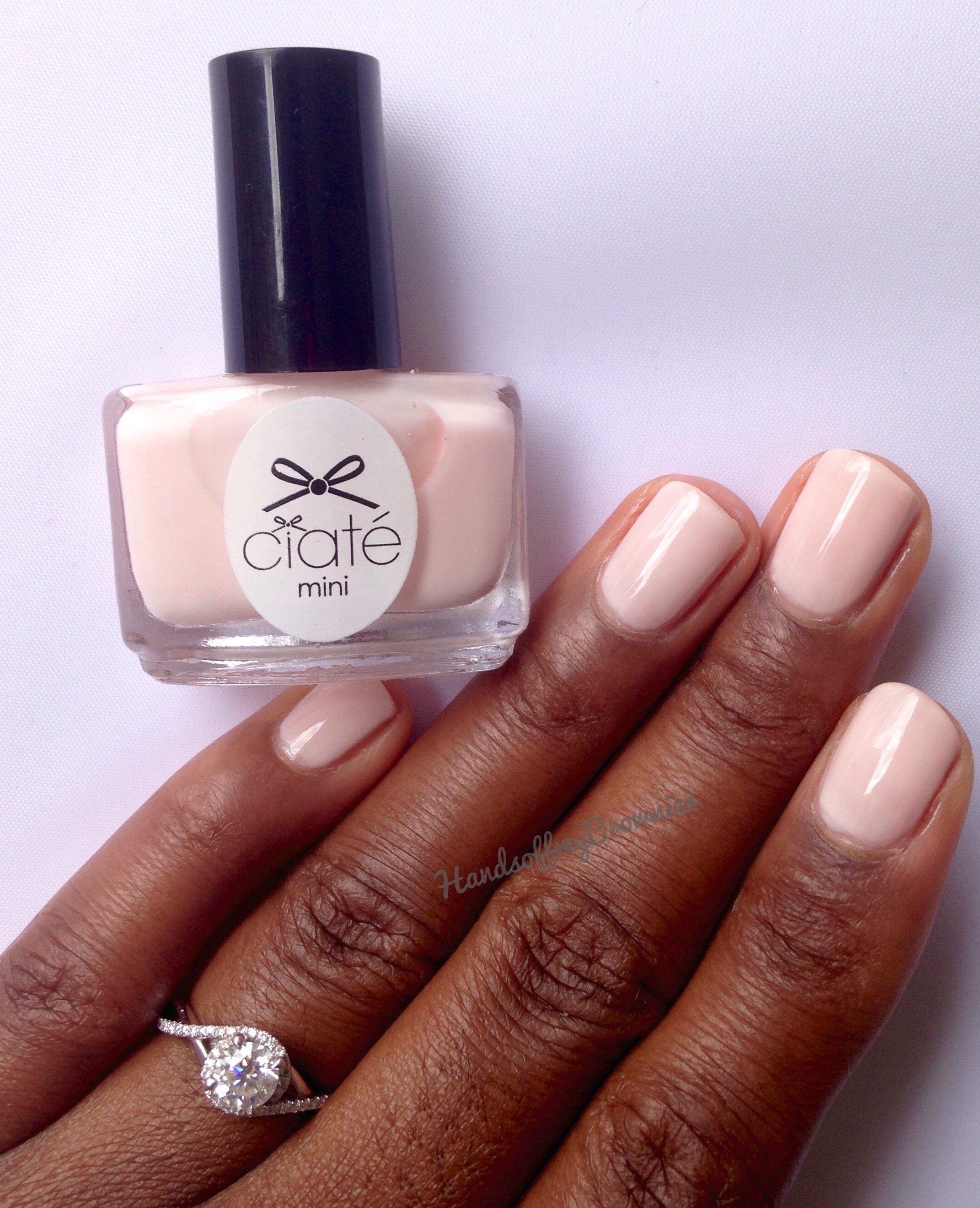Ciate London Nail Polish: A Girl With Brown Hands And An