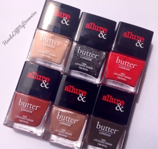 butter LONDON & Allure Arm Candy Collection