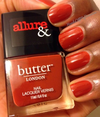 It's Vintage from the butter LONDON & Allure Arm Candy Collection
